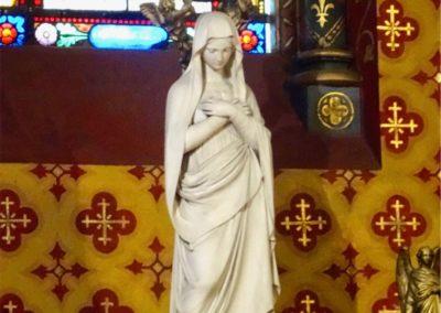 Statue de Notre Dame de Genève
