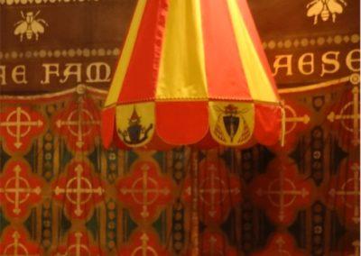 Un des deux emblèmes de la Basilique : l'ombrellino