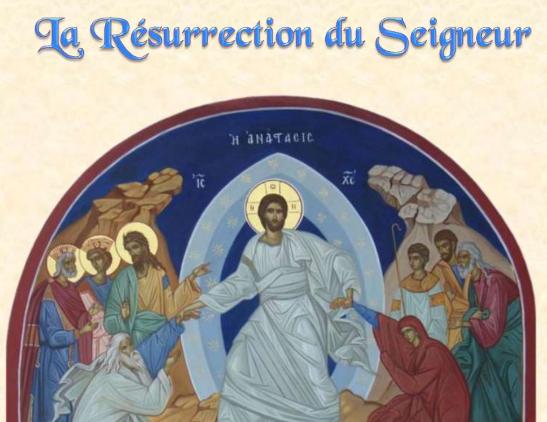 Dimanche de Pâques – 21 avril 2019