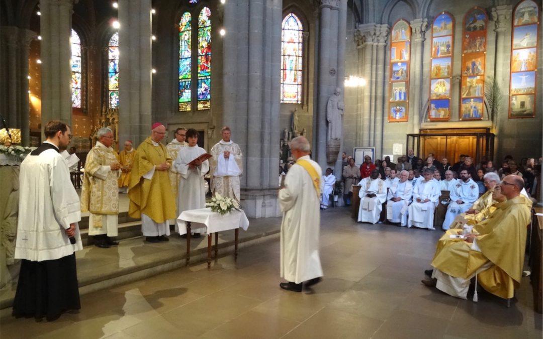 Diaporama de la messe chrismale du 16 avril 2019 à Notre-Dame de Genève