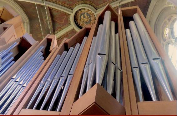 Récitals d'orgue tous les mercredis d'octobre 2019 à 19h30