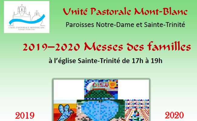 Messes des familles UP Mont-Blanc