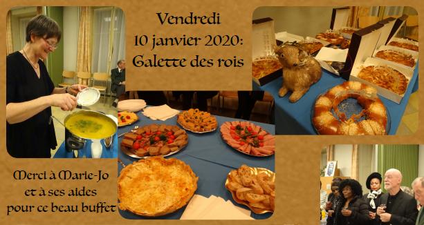 """Soirée """"Galette des Rois"""" – 10 janvier"""