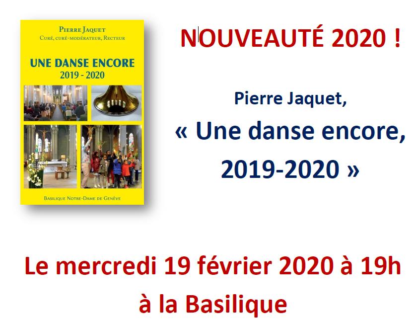 Présentation du nouveau livre de Pierre Jaquet, recteur de la Basilique – 19 février à 19h