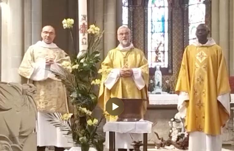Pâques à la Basilique
