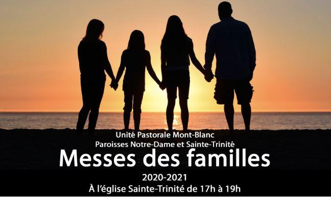 ANNULÉ EN PRÉSENTIEL – Messes des familles 2020-2021