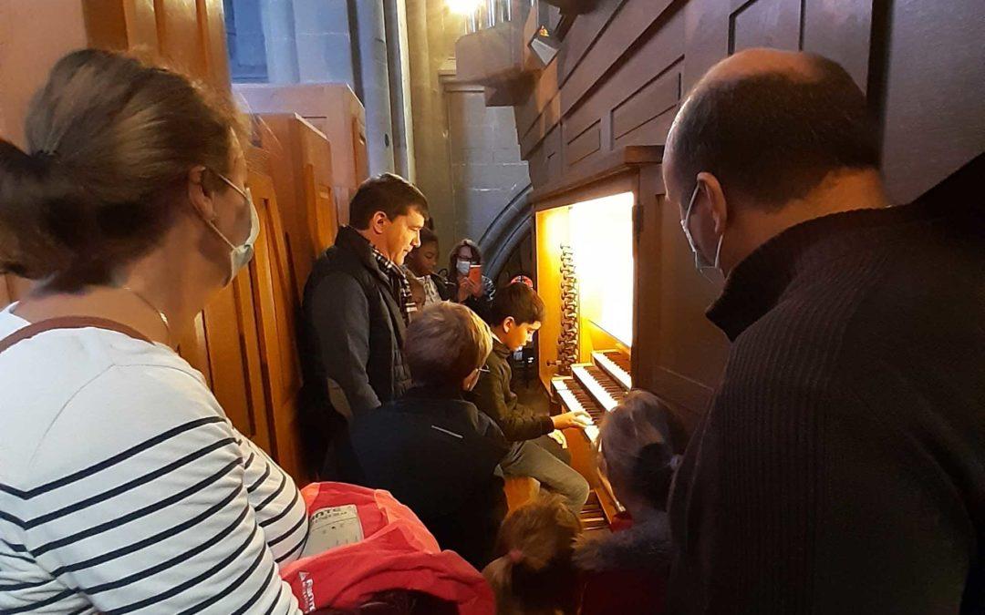 Retour sur l'évènement de découverte de l'orgue pour les jeunes du 10 octobre 2020