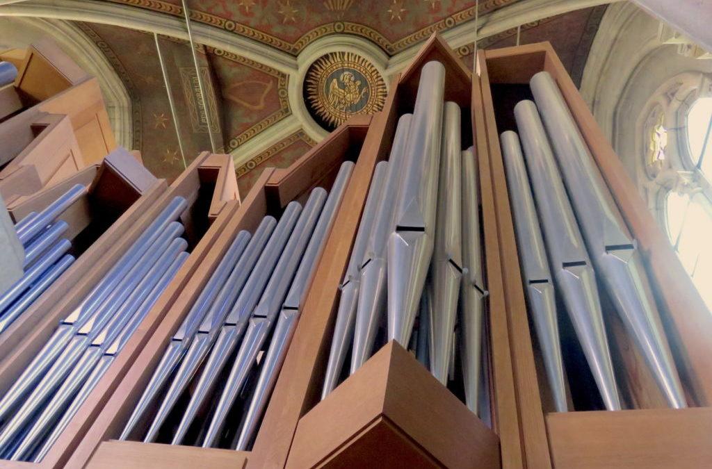 Découverte de l'orgue pour les jeunes – 10 octobre 2020