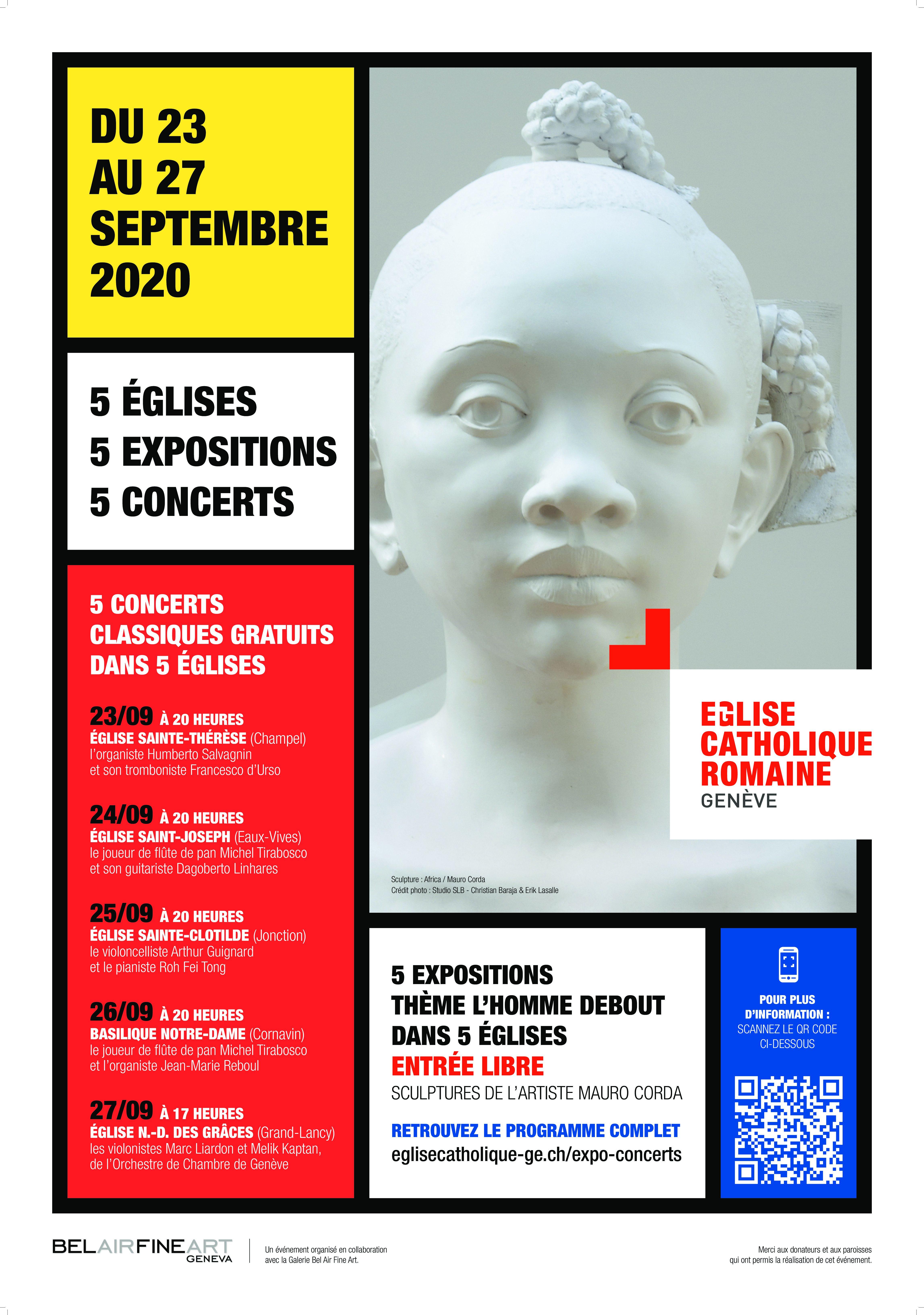 """ART ET SPIRITUALITÉ """"l'Homme debout"""" du 23 au 27 septembre 2020"""