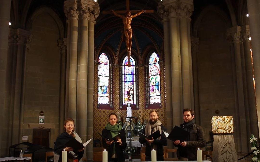 Retour du chant à la Basilique Notre-Dame