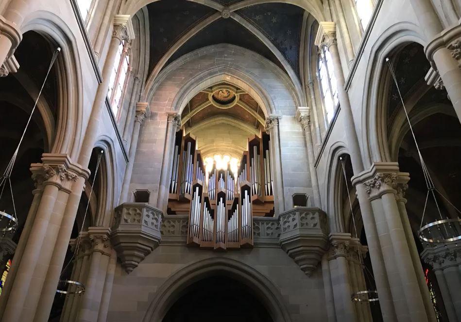 Orgue de la basilique, écoutez le final de la sonate VI (op. 65) de F. Mendelssohn par Federico Terzi