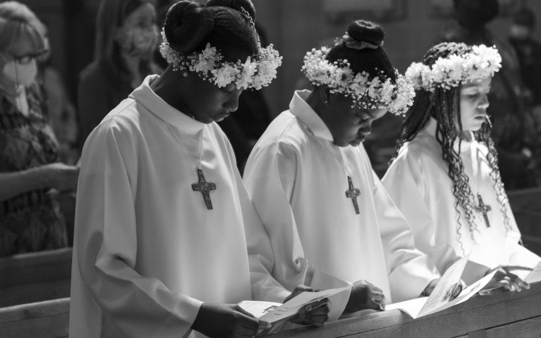 Retour sur les célébrations des premières communions